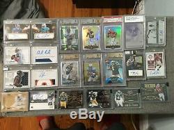 Short Print Football Card Lot Autos/Rc's/Game-used/$$$$ Prescott/Watson/Henry