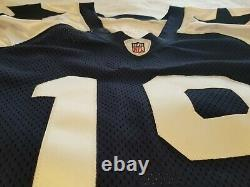 TEAM ISSUED THANKSGIVING Miles Austin #19 Dallas Cowboys GAME CUT jersey 2011 50