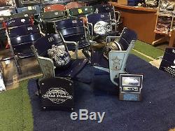 Texas Stadium Figural Star Logo End Cap Seats Dallas Cowboys GAME USED COA RARE