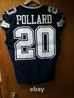 Tony Pollard GAME USED Rookie Dallas Cowboys Jersey 9/29/19 vs. Saints Prova