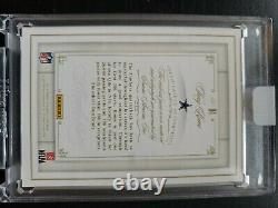Tony Romo 2014 Flawless Patch Auto-On Card /25 Cowboys SEALED / GAME WORN