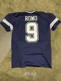 Tony Romo Dallas Cowboys Game Issued Jersey Nike 2015 Elite Navy Jersey Sz 46