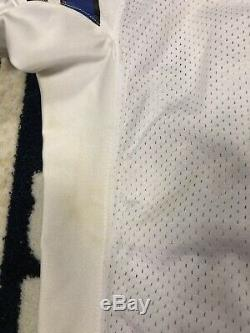 Tony Romo Dallas Cowboys Game Issued Used Jersey 09 Marks/Stains Beckett COA