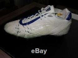 Tony Romo Dallas Cowboys Game Used Single Left Cleat Photo Matched to 49ers