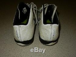 Tony Romo Dallas Cowboys Game Used Under Armour Cleats Photo Matched Panthers