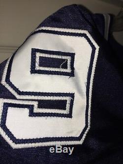 Tony Romo Dallas Cowboys Game Used Worn Jersey Rookie Season 2003