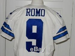 Tony Romo Game Issued Dallas Cowboys Jersey 2015 46 QBK