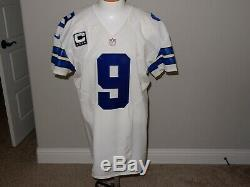 Tony Romo Game Issued Jersey 2013 46 QBK Dallas Cowboys COA Captains Patch