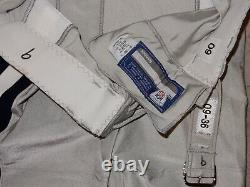 Tony Romo Game Used Dallas Cowboys Silver Pants 09-36