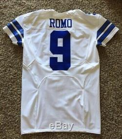 Tony Romo Nike Dallas Cowboys Game Issued Jersey From From 2015