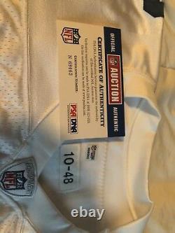 Tony Romo Signed Cowboys Jersey Game Issued From 2010 Season NFL COA