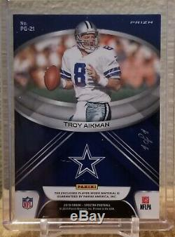 Troy Aikman 2019 Spectra 1 Of 1 Pillars Of The Game Dallas Cowboys