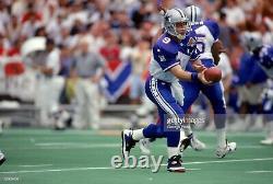Troy Aikman #9 1995 Wilson ProLine Authentic Pro Bowl Game Cut Jersey Sz 46