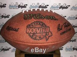 Troy Aikman Autographed Super Bowl Sbxxviii Official Game Football Cowboys-coa