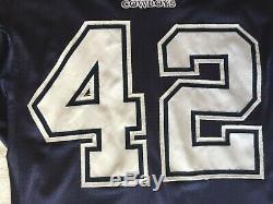 Troy Hambrick Game Used Worn Blue Dallas Cowboys 2002 Jersey