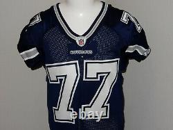 Tyron Smith Game Issued Dallas Cowboys Jersey ROOKIE Reebok 11-50