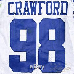 Tyrone Crawford Game Worn Dallas Cowboys Jersey From 9/25/17 vs ARI