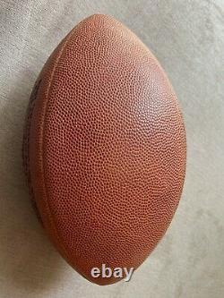 Very Rare Authentic Wilson NFL Super Bowl XXVII Football used in actual SB game