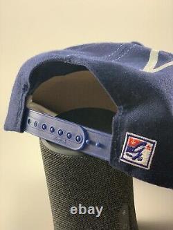 Vintage Dallas Cowboys The Game Big Logo Snapback Hat Cap 90's