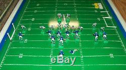 WORKS! Vintage 1960s Tudor 620 NFL Electric Football Game DALLAS COWBOYS vs RAMS