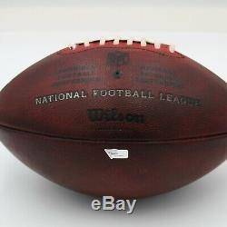 Washington Redskins Game-Used Football vs. Dallas Cowboys on December 29, 2019