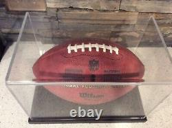 Wilson The Duke Official National Football League NFL Authentic Game Ball NEW