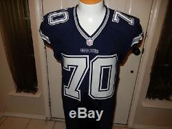 Zack Martin Dallas Cowboys CUSTOM Game Jersey 2013-44 Nike